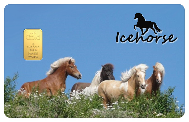 Icehorse Gold Card Front